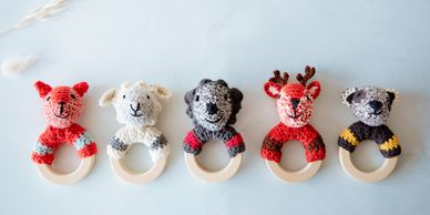 Global Affairs UK eco handmade knitted kids bay accessories toys cuddles ecotoys organic