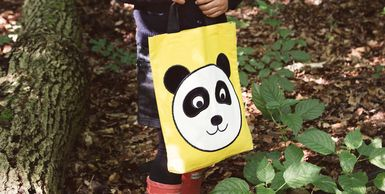 Global Affairs UK eco handmade knitted cotton school bags kids accessories toys cuddles organic