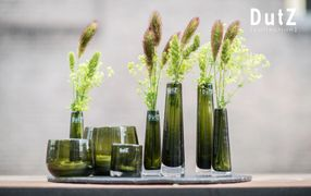 DutZ collection handcrafted flower vessels glassware wholesale hotel restaurent interior design UK