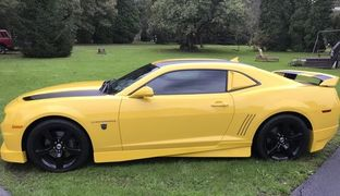2012 chevy camaro ss transformer edition