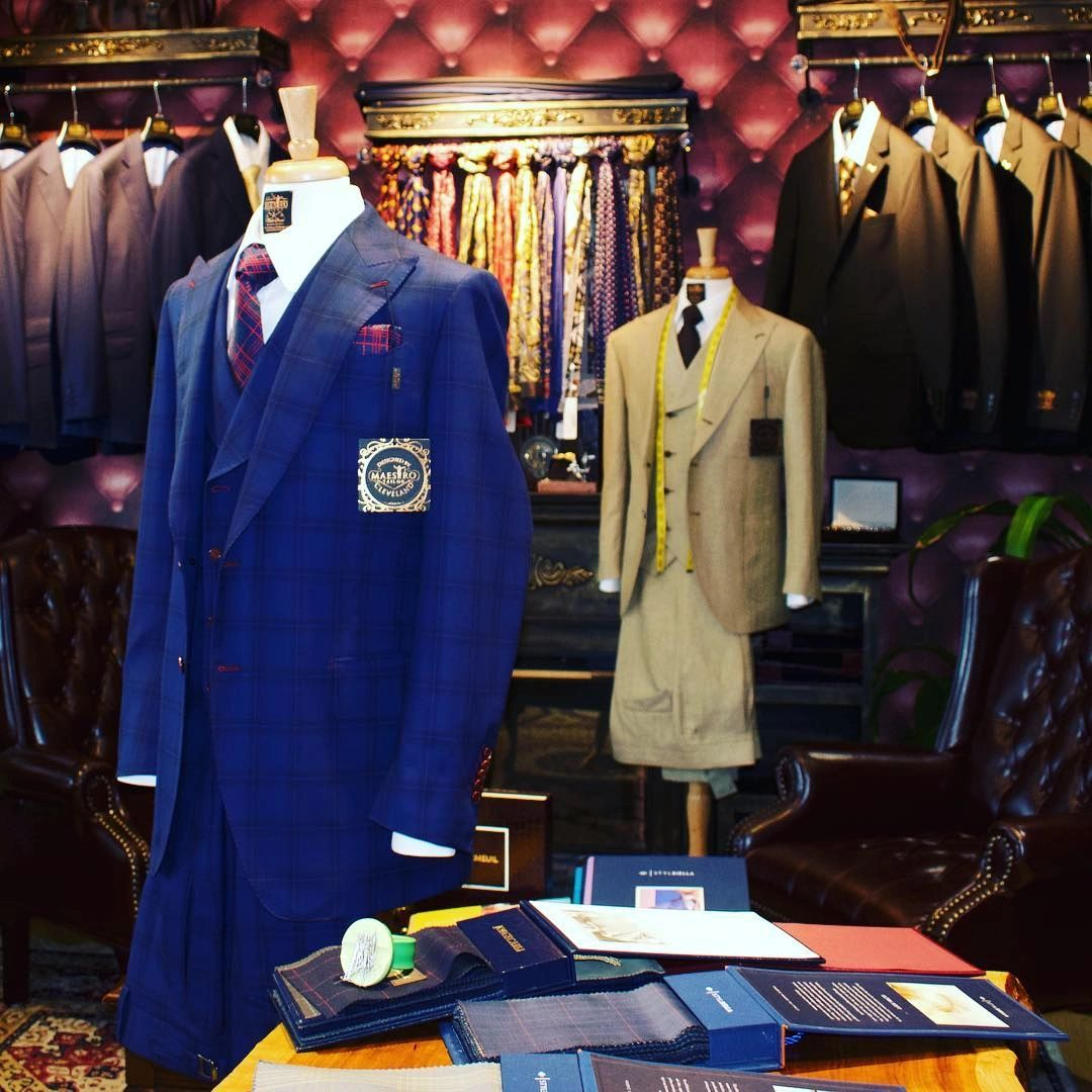 Custom suits for wedding ready to wear tailor