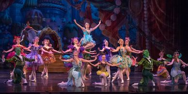 American Midwest Ballet's The Nutcracker Waltz of the Flowers