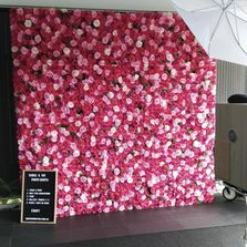 Affordable Flower Wall Hire Brisbane