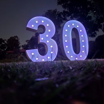 light up 30 numbers package