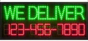 ELECTRONIC MESSAGING LED SIGNS