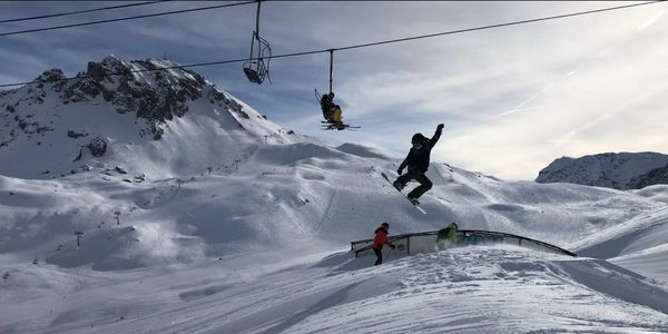 Snowboard Keith Wood Tignes Instruction Val d'Isere