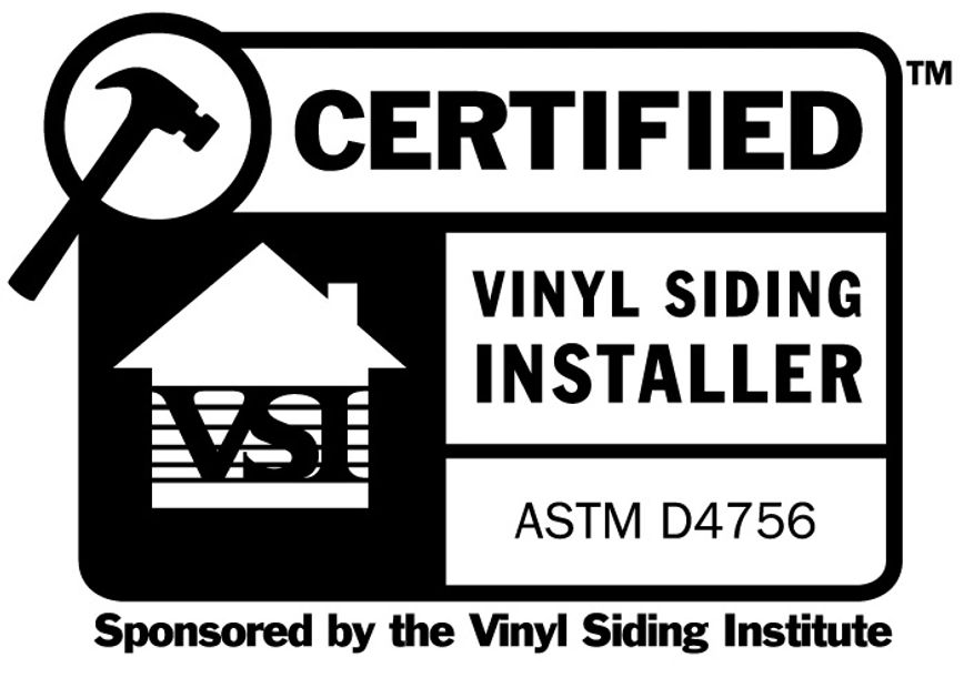 Homeguard Roofing And Siding Inc - Employs VSI Certified Vinyl Siding Installers