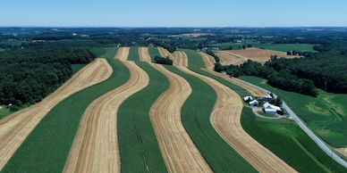 Precision agriculture and farm estate aerial photography