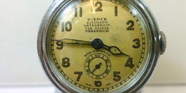 Pierce Linear Automatic watch,early automatic watches
