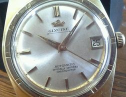 Vintage Glycine Automatic COSC watch