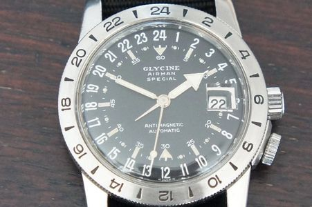 Vintage Glycine Airman Special Watches