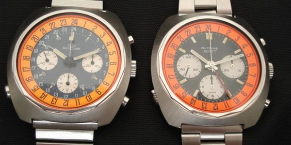 Vintage Glycine Airman SST Chronograph watches