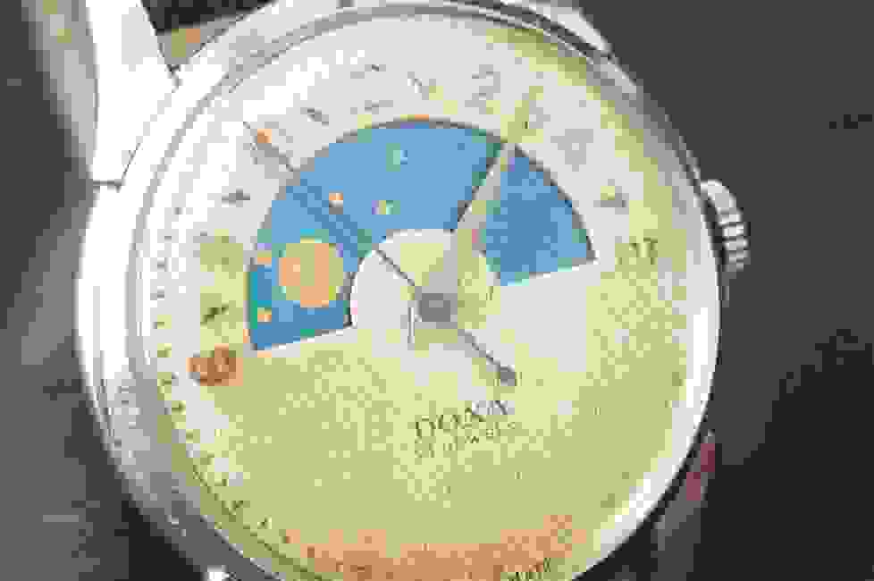 Doxa Chezard 115 dead beat seconds watches