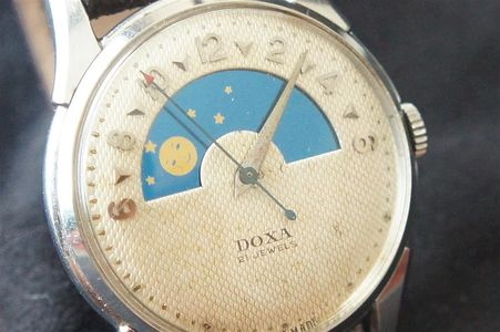 Vintage Doxa Dead beat seconds watch for sale,Vintage Glycine Airman watches,Glycintennial