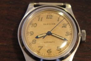 Vintage Glycine Automatic watch , early automatic watch
