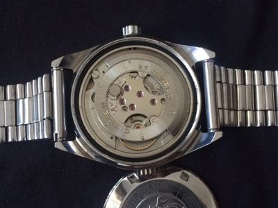 Vintage Citizen ring rotor automatic watches