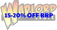 15 - 20% discount on Warlord Games products such as Bolt Action.