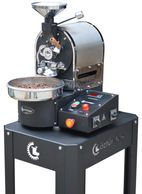 Ozturkbay 250 and 500 gram sample coffee roaster Turkish quality at a great price USA tech support