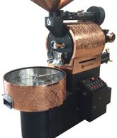 Ozturkbay OKS-15 commercial coffee roaster Turkish quality at a great price USA tech support