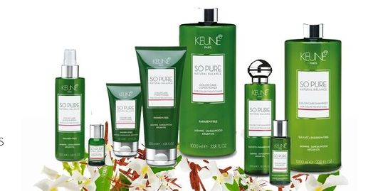Keune So Pure Hair Color Care Treatment Products