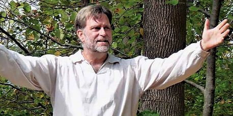 Actor and director Kevin Purcell of Cobden presents 'Prairie Voices.'