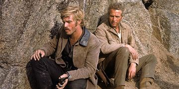 Paul Newman and Robert Redford star in 'Butch Cassidy and the Sundance Kid,' screening Feb. 8.