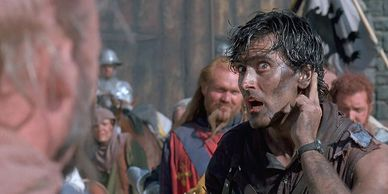 "Bruce Campbell stars in ""Army of Darkness."""