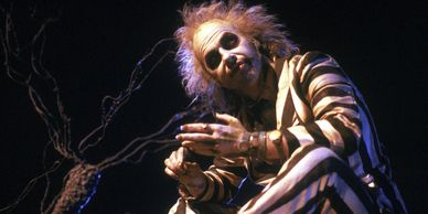 Michael Keaton is 'Beetlejuice.'