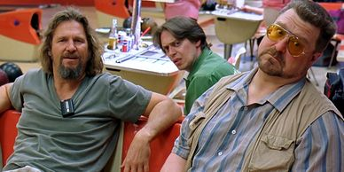Jeff Bridges, Steve Buscemi and John Goodman.