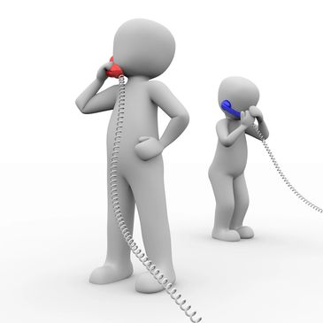 Telephone counselling and therapy