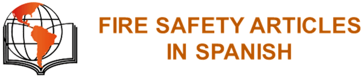 FIRE SAFETY ARTICLES IN SPANISH
