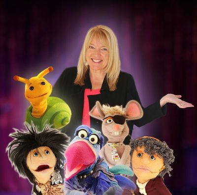 World Class Ventriloquist and her characters!
