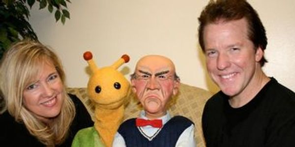 Lesley Smith and Jeff Dunham