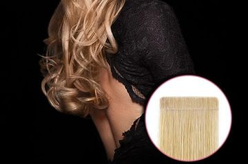 We offer Hot Heads Tape in Extensions for a safe natural look.