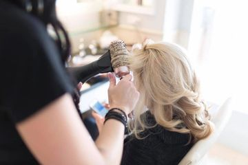 We offer a full blowout bar experience! Long lasting, show stopping styles!