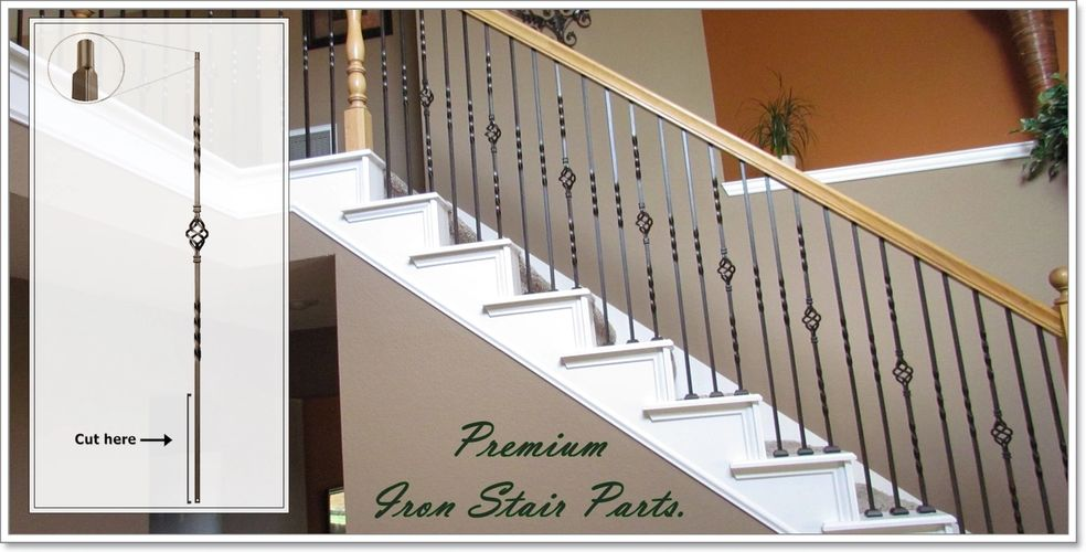 Premium iron stair parts
