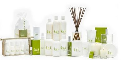 kai lotion, candles ,deodorant, room defuser, gift sets