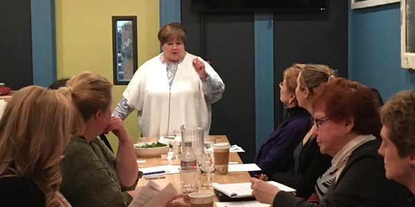Beth Wagner shares information on who to develop a 30-second commercial for a networking event.