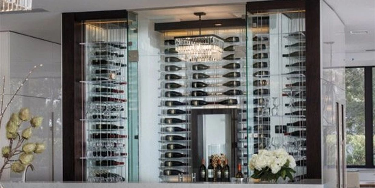 Metal Wine Racks for Any Space from Rhino Wine Cellars
