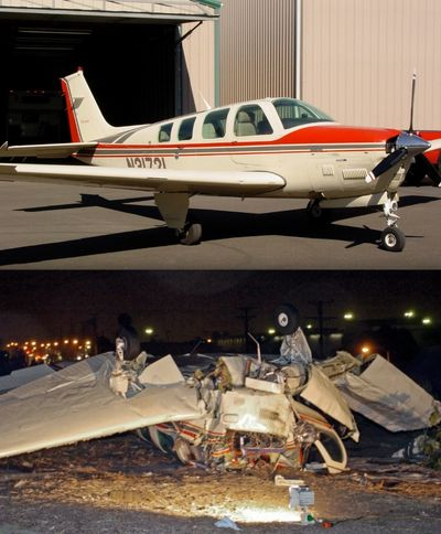 Before and after pics of our Beechcraft Bonanza Turbo (B36TC)