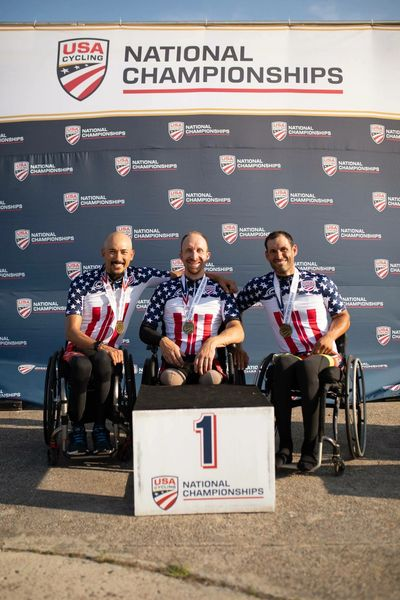 2018 US Paracycling National Team Relay Champions
