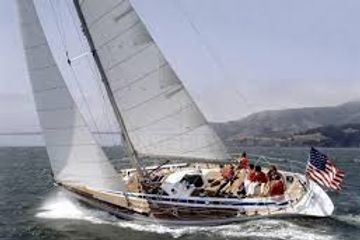 Race Yacht Charter. offshore racing, crew berths available. Swan 46 yacht charter with Alex Bennett