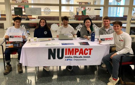 NUImpact Coffee Tabling for D'Amore-McKim School of Business