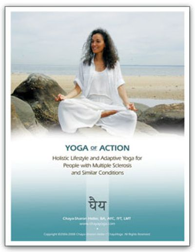 Yoga of Action; Holistic Lifestyle, adaptive yoga for people with MS and similar conditions, manual