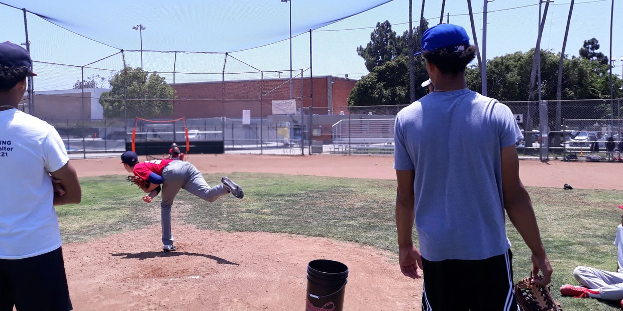 santa monica baseball academy pitching camp
