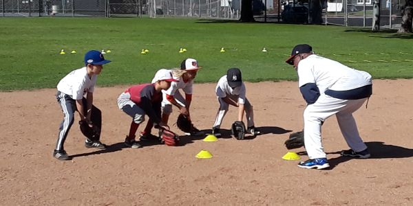 infield at santa monica baseball academy