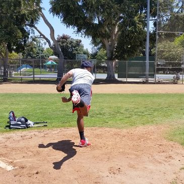 santa monica baseball academy pitching clinic
