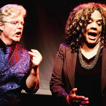 Shaun Landry and Hans Summers of Landry & Summers perform at The San Francisco Improv Festival