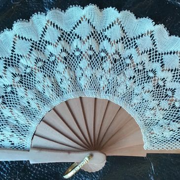 Bobbin Lace Fan