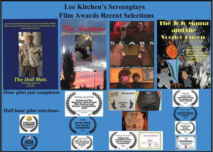 Some Awards and Acceptances at Film and Writing Festivals.